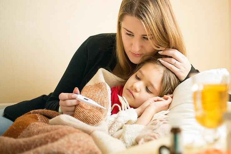 Ab wann hat mein Baby Fieber?
