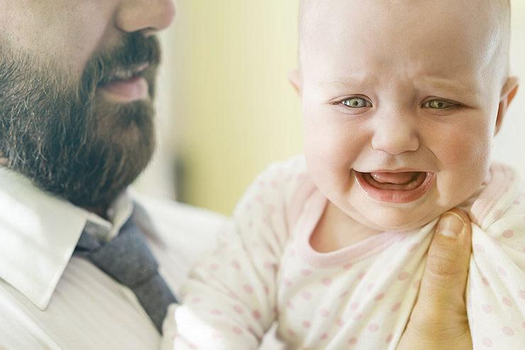 Warum weint mein Baby? Tipps für besorgte Eltern