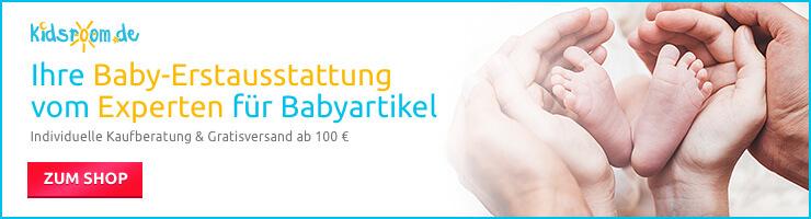 Baby-Erstausstattung online kaufen, beim Experten für Babyartikel - kidsroom.de