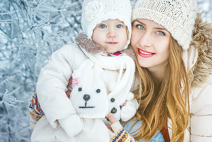 Baby Winter Hautpflege