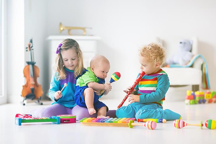 Musik und Intelligenz in der Babyentwicklung