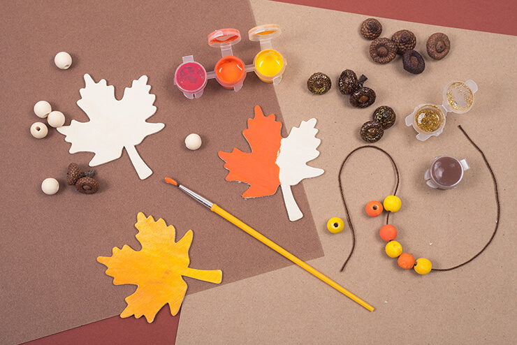 Kreativer Bastelspaß für verregnete Herbsttage
