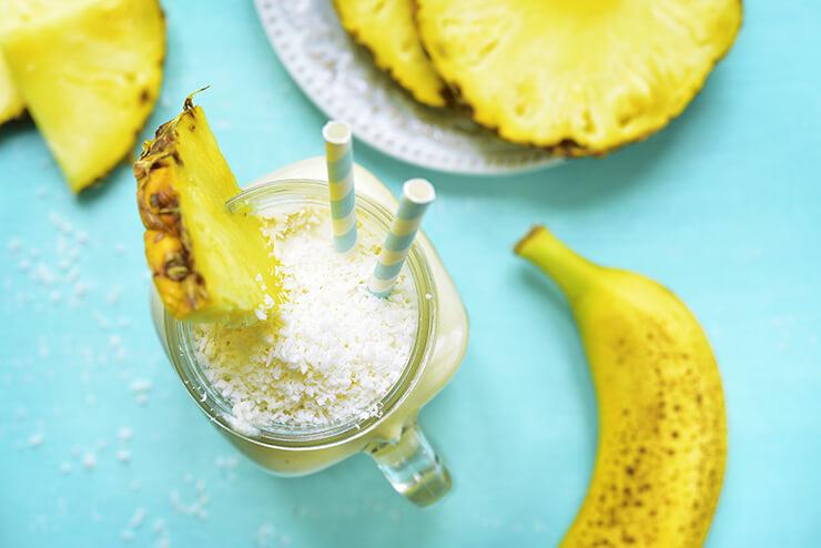 Leckerer Kokos-Milch-Shake